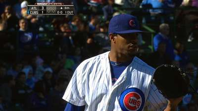 Jackson settles in after sluggish start, but Cubs fall