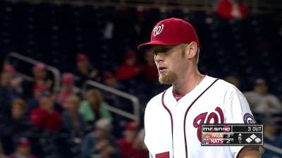 Strasburg third fastest to reach 500 strikeouts