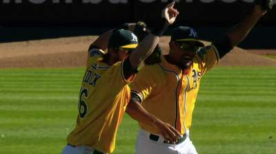 Crown control: A's retain title in front of home crowd