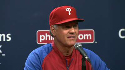 Bowa, Sandberg unite, as promised, on Phillies' staff