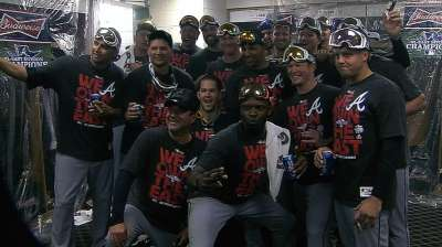 Braves overcome injuries to capture NL East title