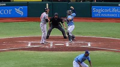 Letting ball travel key for Lobaton throwing out runners