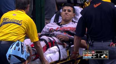 Machado has surgery, could miss six months