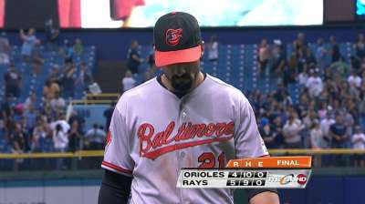 Orioles suffer double whammy in loss