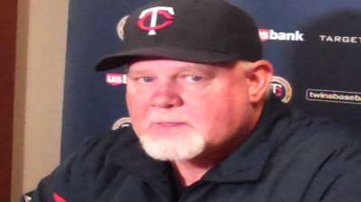 Gardy hoping Twins can match Tribe's intensity