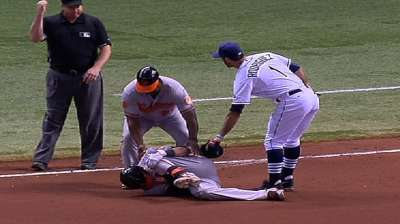 MRI shows Machado doesn't have torn ACL, MCL