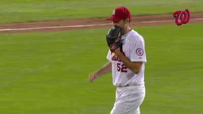 Wacha's 8 2/3 no-hit innings cut Cards' number to 3