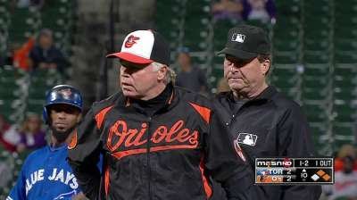 Orioles eliminated with extra-innings loss to Jays