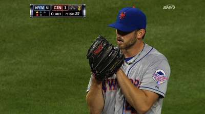Niese to finish out season Sunday vs. Crew