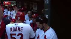 Cards sweep Nationals; magic number at 1