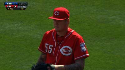Latos has elbow surgery to remove bone chips
