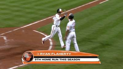 Flaherty looks in line to be O's second baseman