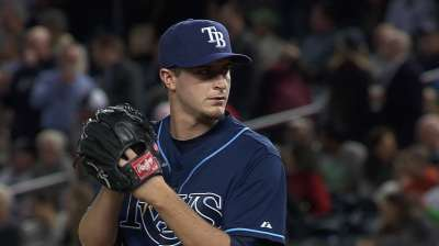 Odorizzi reveling in first Major League save