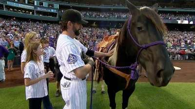 Coors Field celebrates its favorite son Helton