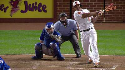 Young O's show upside, pop day after elimination