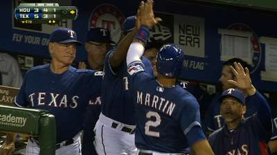 Rangers shadow Wild Card leaders with win