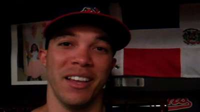 Ubaldo was always happy playing baseball in DR
