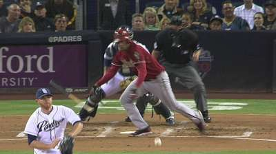 Delgado unable to contain Padres' offense