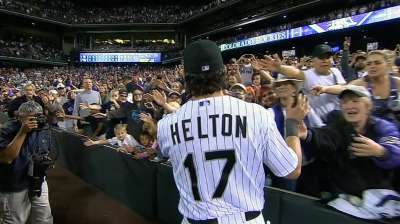 Helton's special night doesn't end with victory