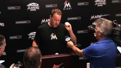 Catching up with Marlins manager Redmond