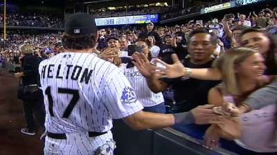 Rockies deciding how to immortalize Helton's No. 17