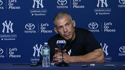 Mo could play outfield in Houston, says Girardi