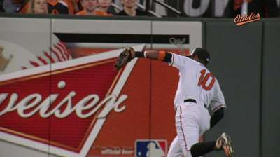 O's, Rays dominate Gold Glove finalists field