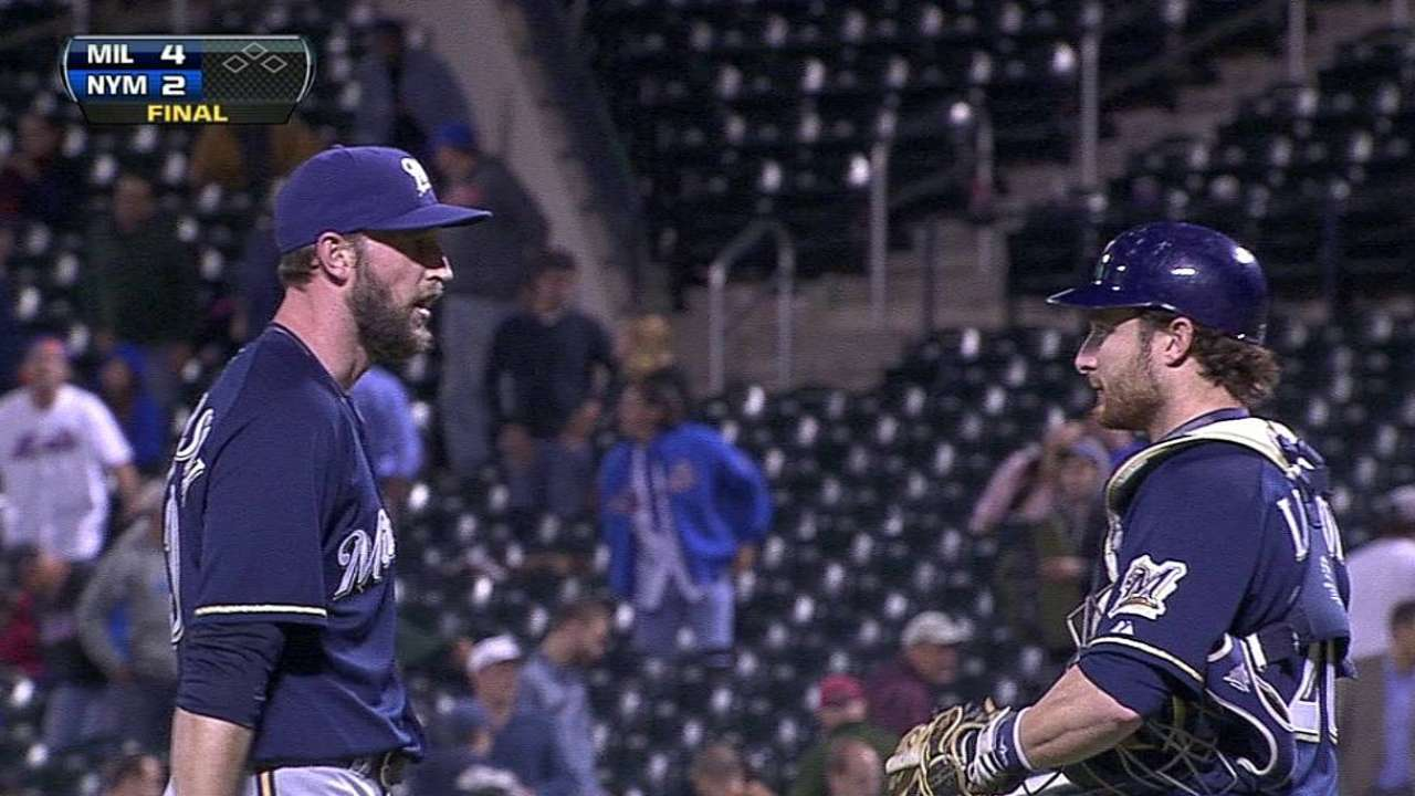Plenty of 'pen options remain available to Brewers