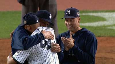Rivera and Pettitte exit, as 2013 marks end of an era