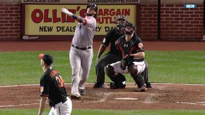 Reversed homer becomes record-setting double