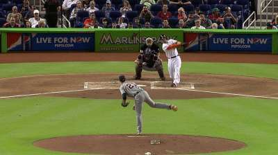 Stanton's bases-clearing double sinks Tigers