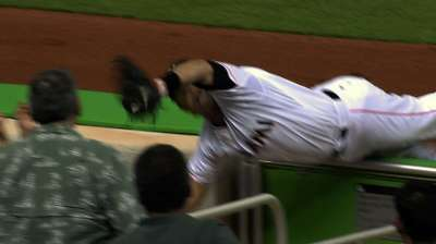 Polanco's impressive diving play earns praise