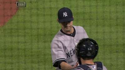 Yanks not ready to anoint Robertson as next closer