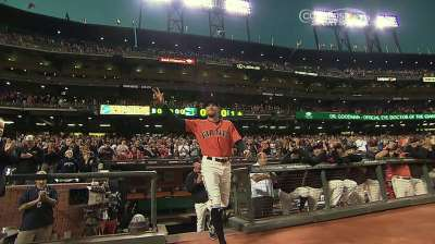 Pence wins Giants' 2013 Willie Mac Award