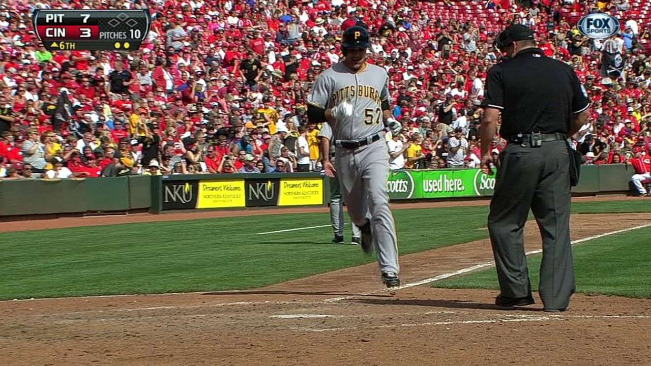 Pirates can't overlook hole at first base