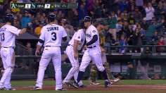 Rookies Miller, Maurer shine as Mariners top A's