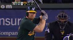 A's locked into No. 2 seed after Parker's bumpy day