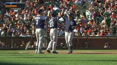 Gyorko wraps up stellar rookie campaign