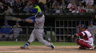 Moustakas gets running start on 2014 season