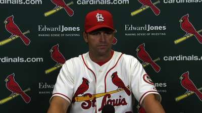 Beltran among Cardinals to rest on Saturday