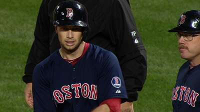 Nava's four hits not enough for clinching Red Sox