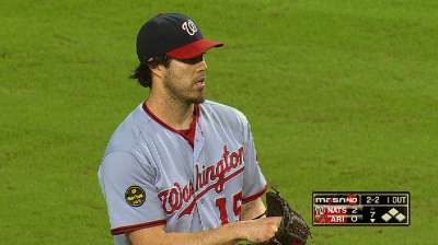 Haren has high hopes for Nationals' rotation