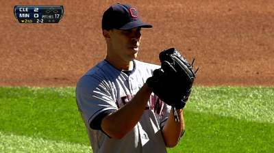 Ubaldo deals himself Pitcher of Month Award