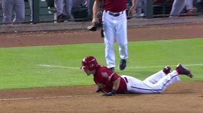 Pollock, Goldy carry D-backs out on high note