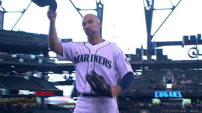 Seattle veteran Ibanez wins 49th annual Hutch Award