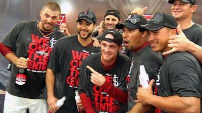 Three keys for Cardinals in NL Division Series