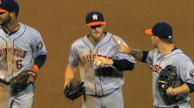 Astros find hope during first season in AL