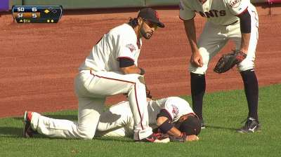 Blanco, Crawford leave finale early with injuries