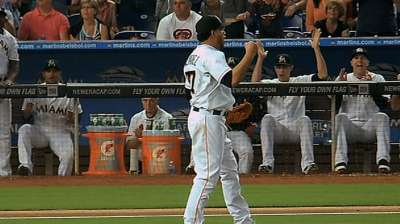 Pitching stands out during Marlins' tough 2013