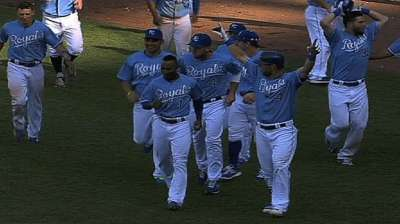 Hot-and-cold Royals brought excitement to KC in '13